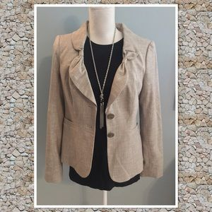 The Limited sz Medium taupe career blazer